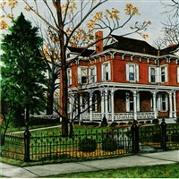 Delta Zeta National Historical Museum and Headquarters 1993 painting