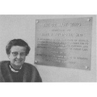 Dr. Mary Hill Fulstone Plaque