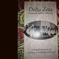 Delta Zeta Centennial Cookbook