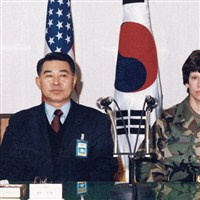 Barbara Campbell Fast in Korea for talks