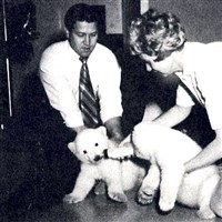 Jan Armstrong with Polar Bears