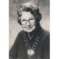 Dr. Martha Wilson MacDonald, Pittsburgh - Omicron, 1980 Woman of the Year