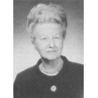 Dr. Mildred Freburg Berry, Iota - Iowa, 1951 Woman of the Year