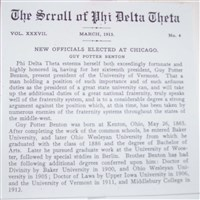 The Scroll of Phi Delta Theta