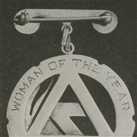 1956 Woman of the Year Pin