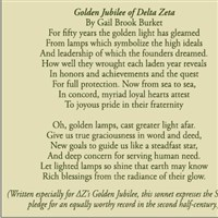 Golden Jubilee of Delta Zeta