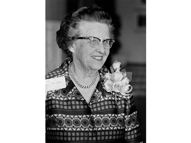 Dr. Mary Hill Fulstone, California/Berkeley - Mu, 1950 Woman of the Year