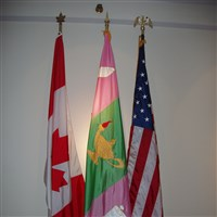The Archives Room Flags